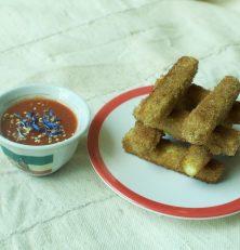 Sticks de Tofu Panés (vidéo recette)