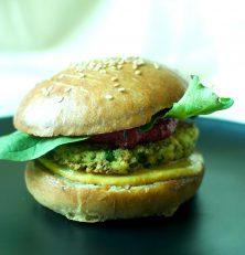 Le steak vegan burger by Vegga Bio