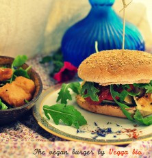 Un homeburger bio & vegan